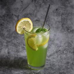 basil lemonade spritzer