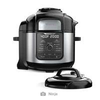 Ninja FD401 Deluxe Pressure Cooker, Stainless Steel