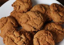 spicy hermit cookies